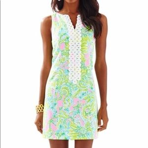 Lilly Pulitzer Cathy Shift Dress Size 2